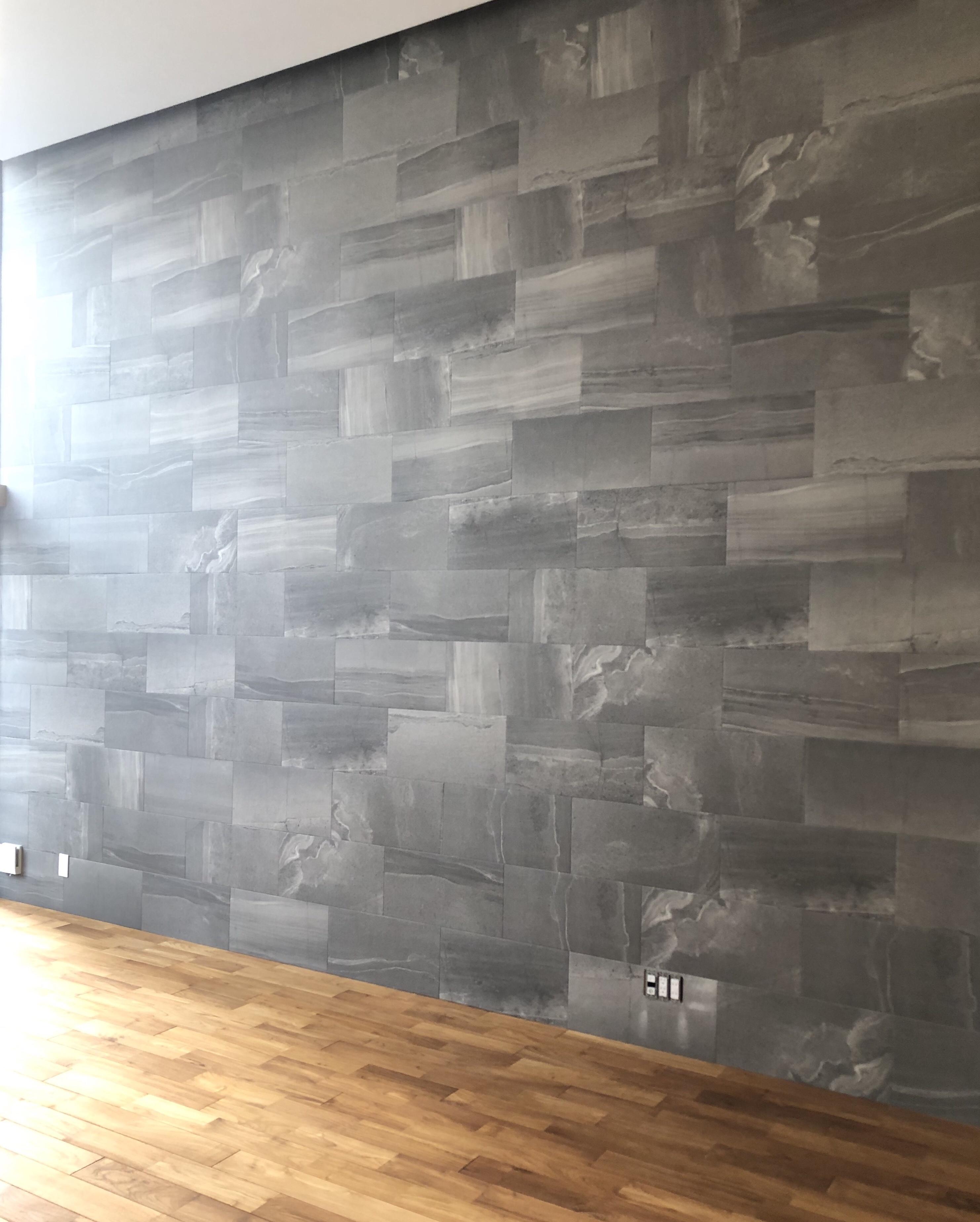 子供部屋の間仕切り壁をクロスで仕上げる!