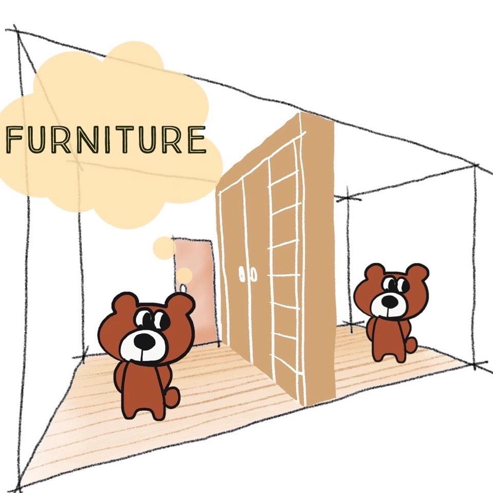 子供部屋を家具で仕切る